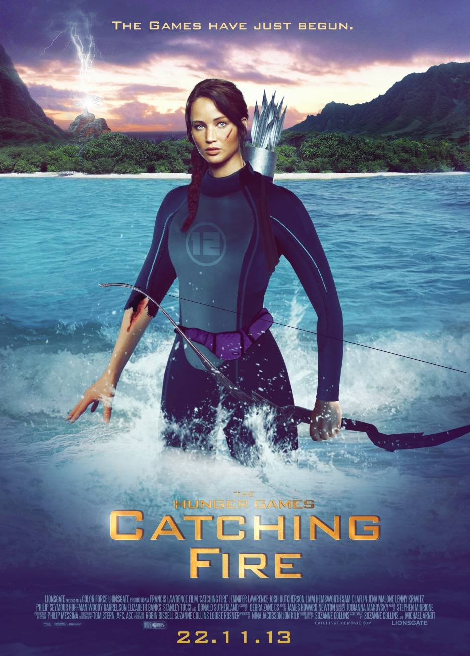 "hunger games catching fire ""the hunger games: catching fire,"" the second film in the series, brings back jennifer lawrence as katniss everdeen, but has a new director, francis lawrence."