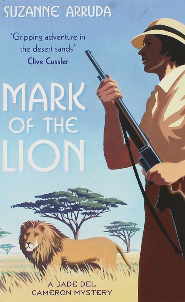 Review Mark Of The Lion By Suzanne Arruda Girls With Guns border=