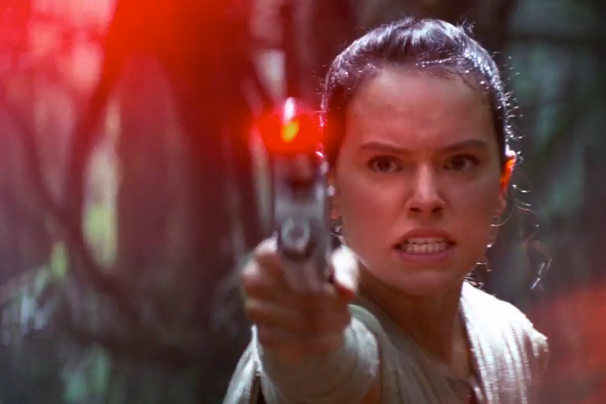 Image result for rey star wars mad""